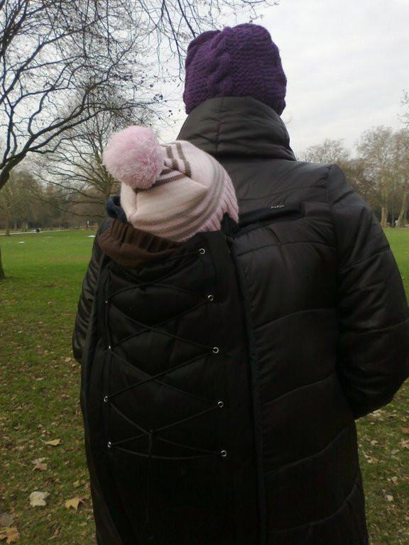 Kumja Huckepack Your Own Babywearing Jacket For Back Carry