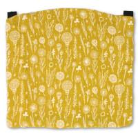 MaMo Kopfstütze Musselin Gelbe Wiese