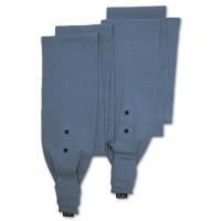 MaMo wrap style shoulder straps - Ramie smokey blue