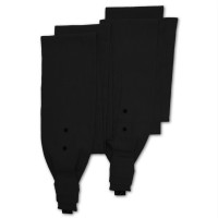MaMo wrap style shoulder straps - Ramie deep black