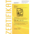 UV Zertifikat
