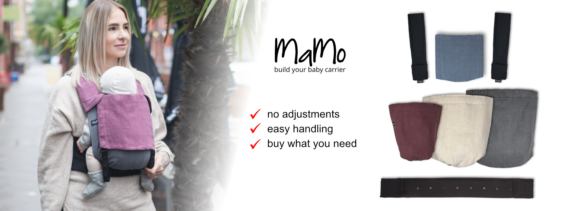 MaMo baby carrier